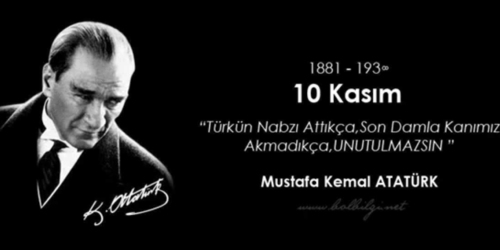 Anniversary of Atatürk's death