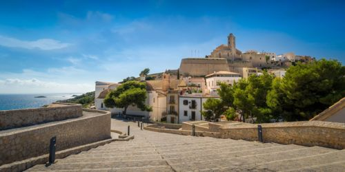 Dalt Vila Historical Center
